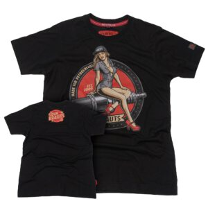 T-Shirt | Alex | Schwarz |